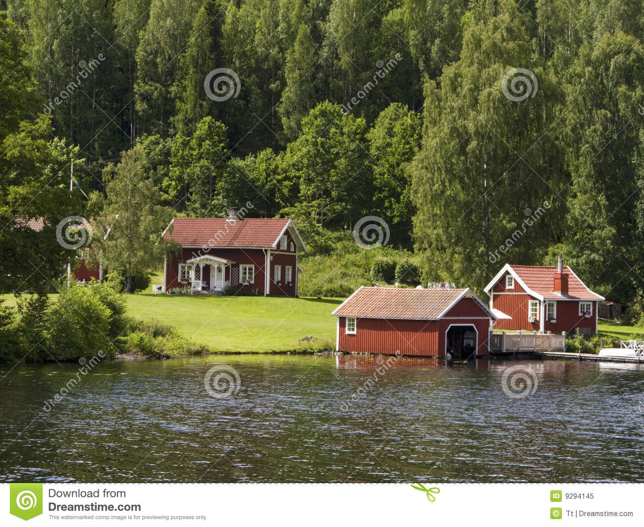 Summer cottage royalty free stock photo image 9294145 - Cottage image ...