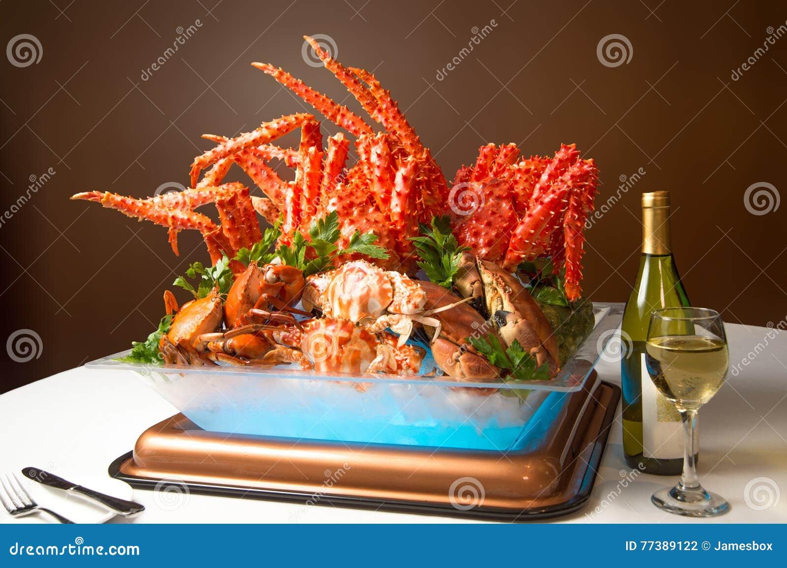 Summer Crab Feast Dinner Buffet To Enjoy Alaska King Crab