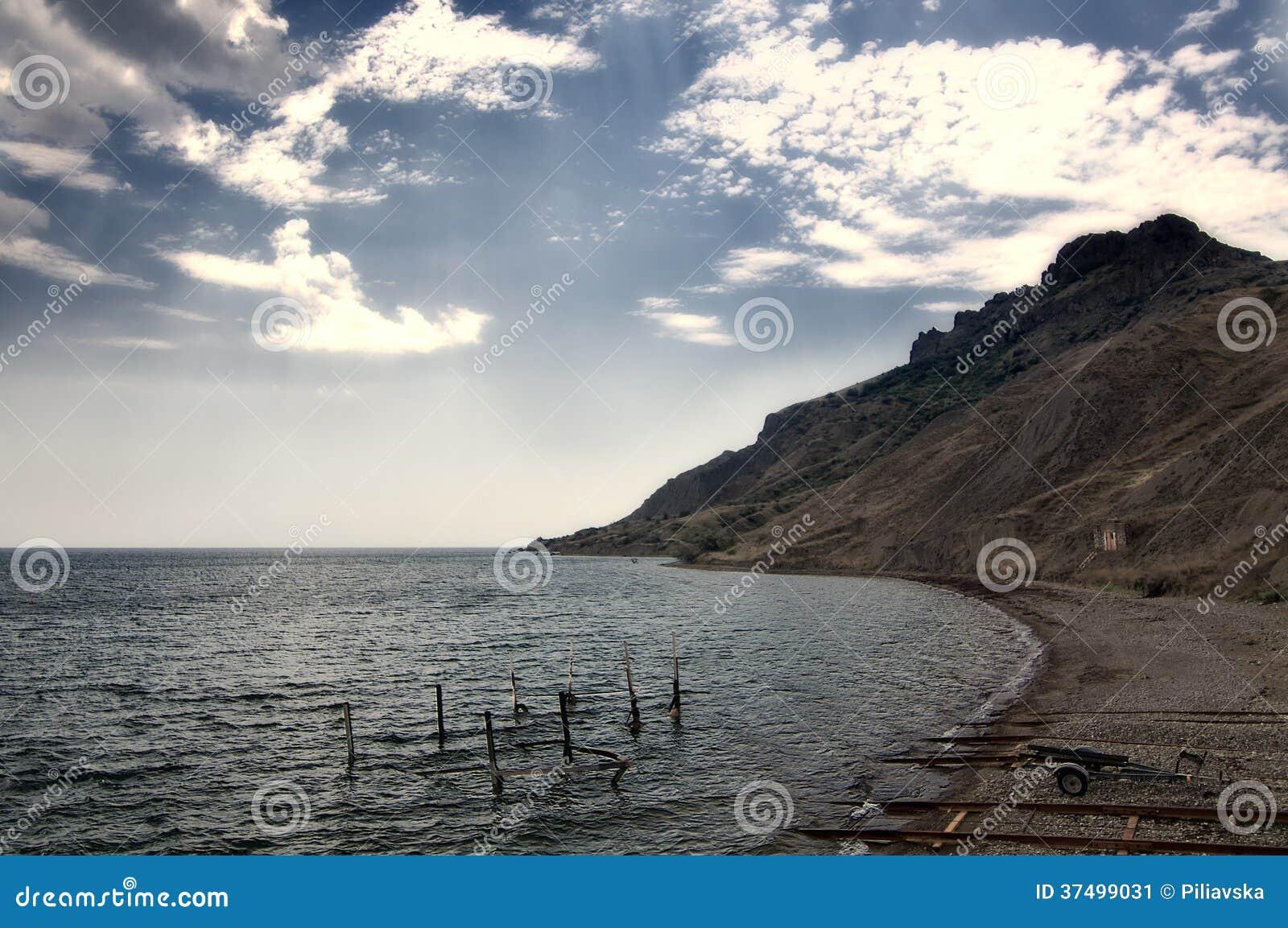 Famous sights of Koktebel