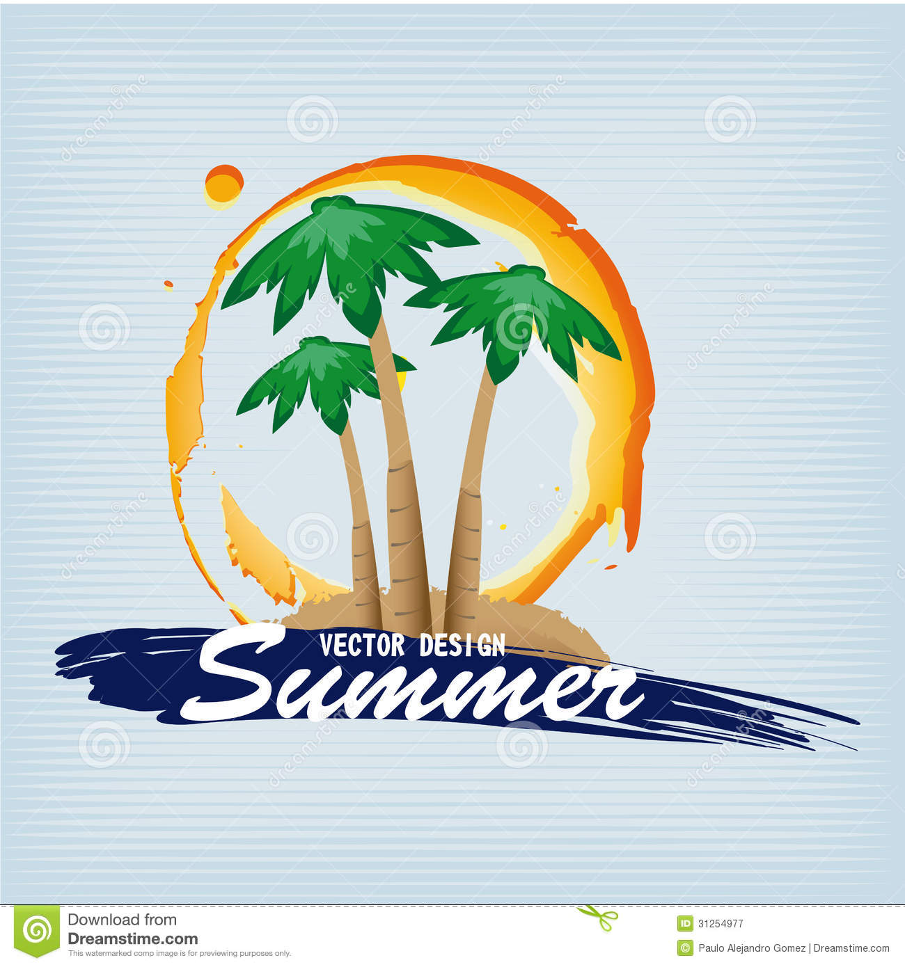 summer vector illustraitons - photo #24