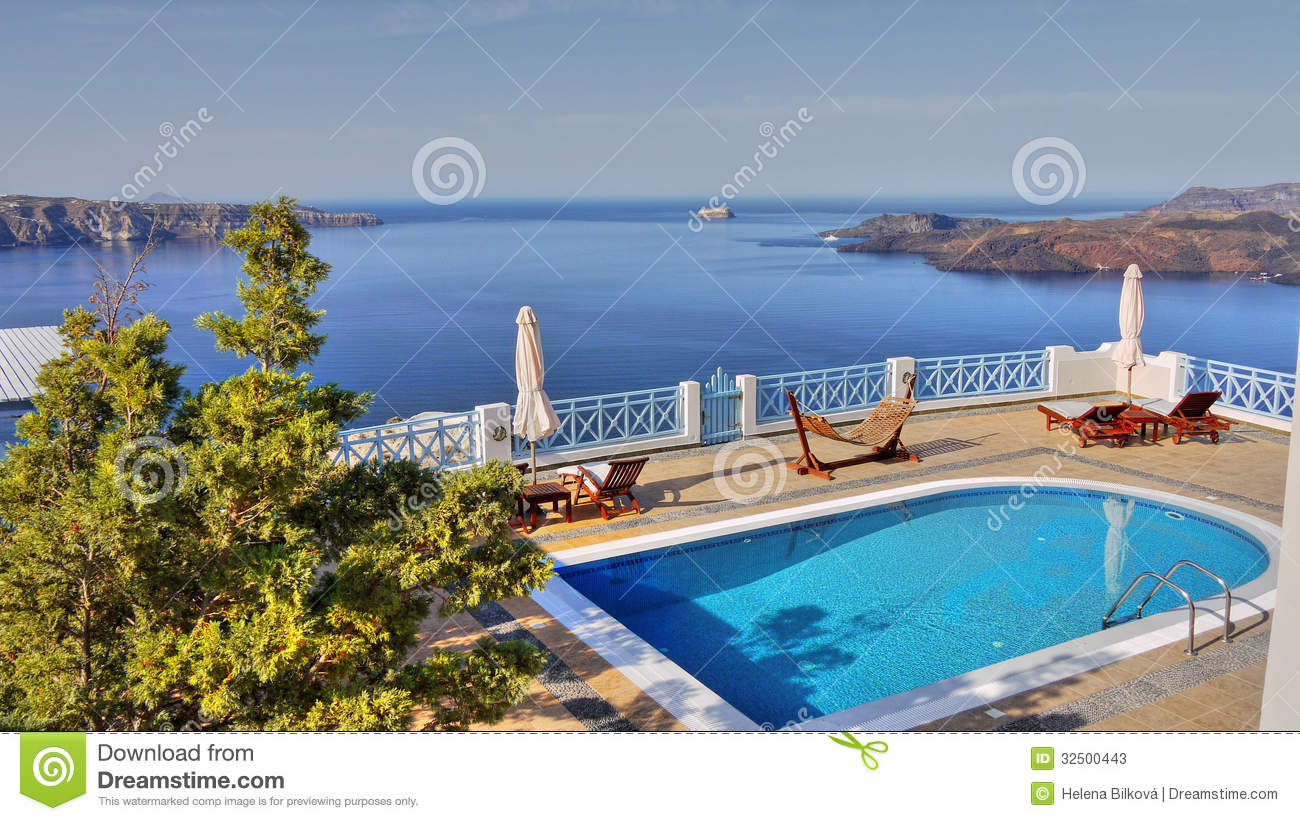 Home Swimming Water Pool Stock Photos Image 32500443