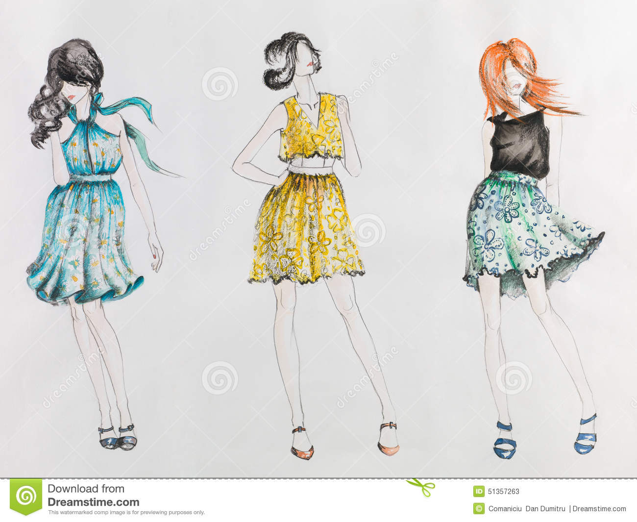 summer dress sketches designs wwwpixsharkcom images
