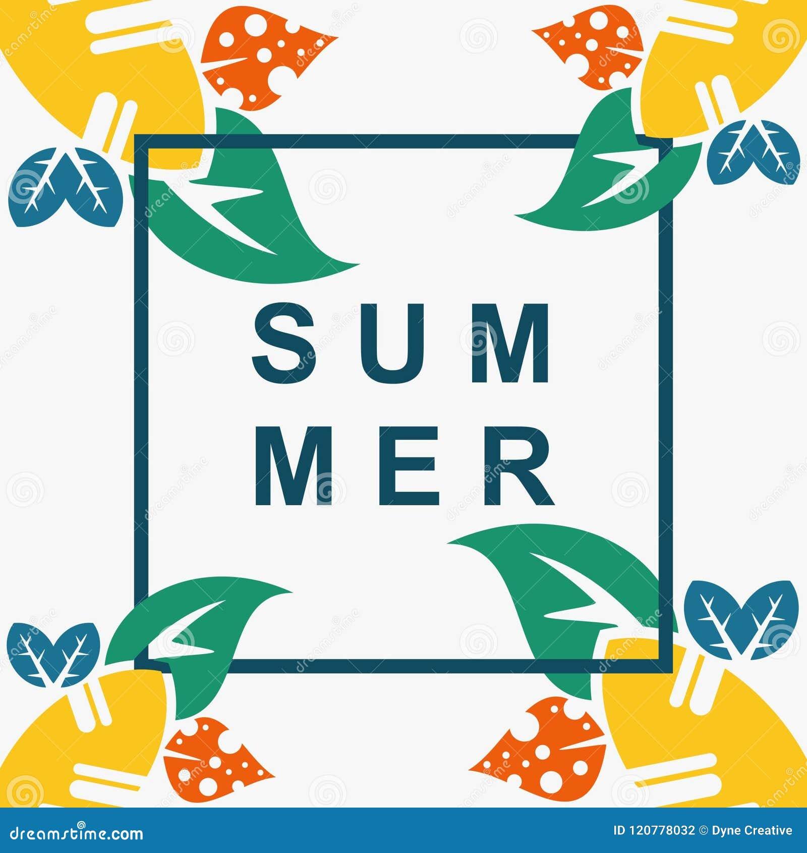Summer Flower Vector Design Best Art Full Color Stock Vector ...