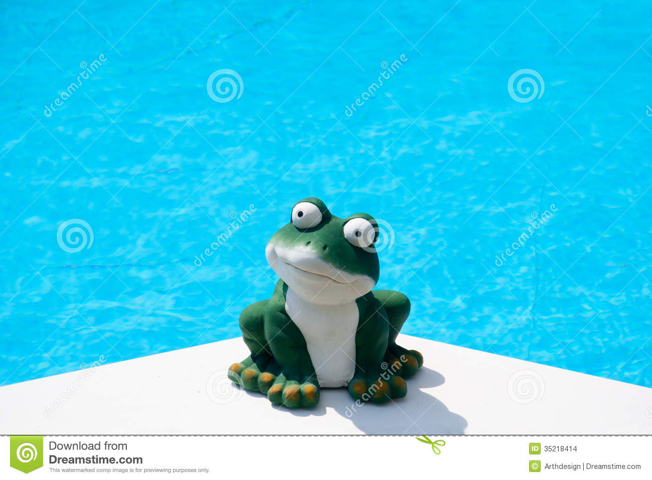 Summer Frog Stock Images Image 35218414