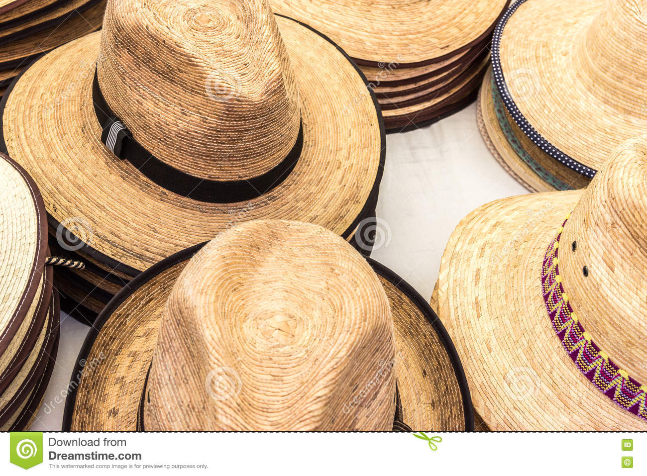 88e0453061d714 Summer hats stock image. Image of straw, hats, decoration - 75615809