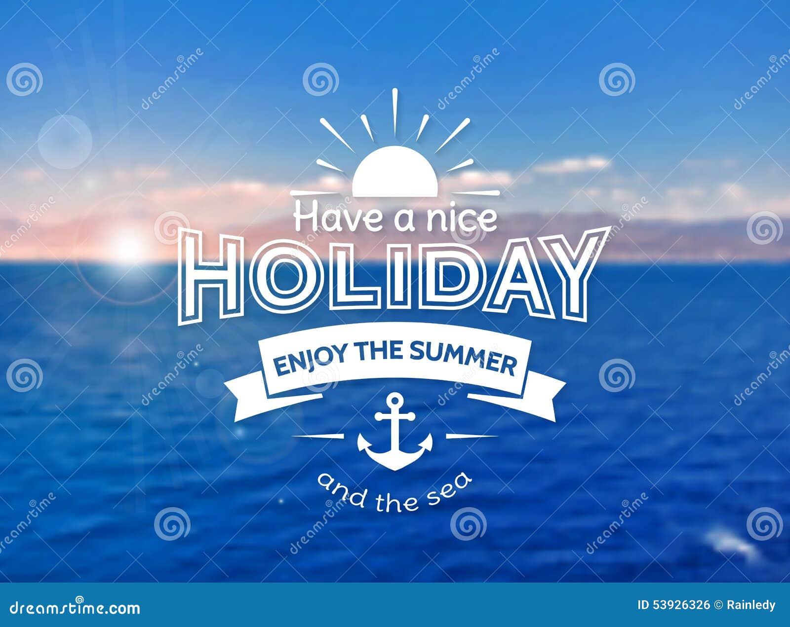 Summer holiday card vector blurred background stock vector summer holiday card vector blurred background kristyandbryce Gallery