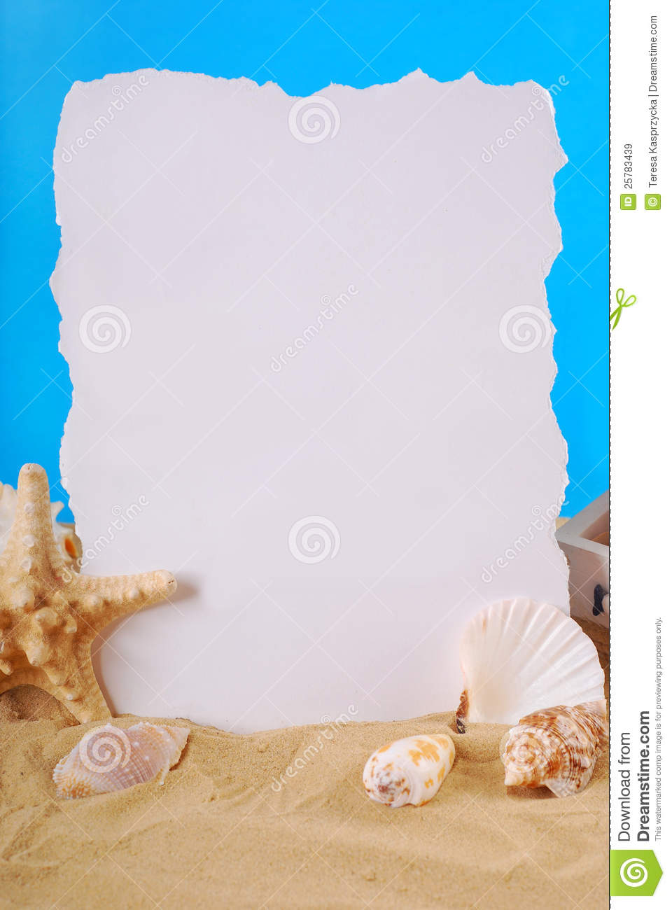 summer holidays frame royalty free stock images image 25783439