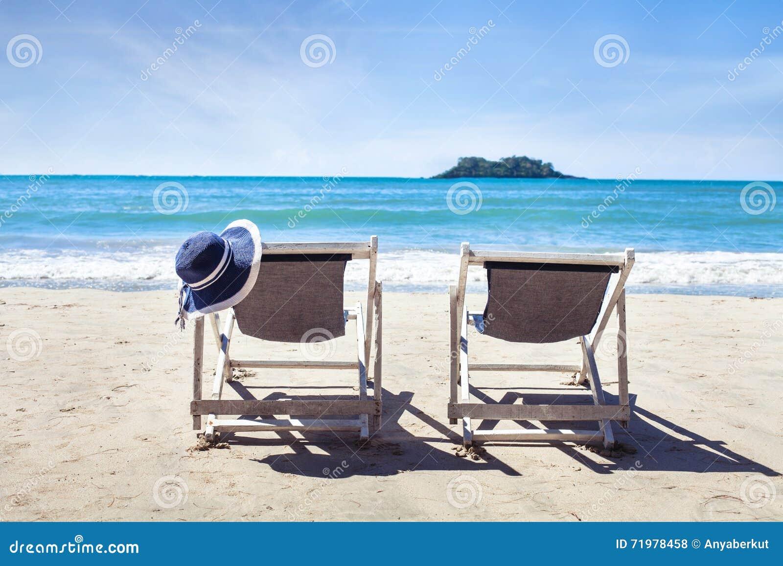 Summer holidays on paradise beach