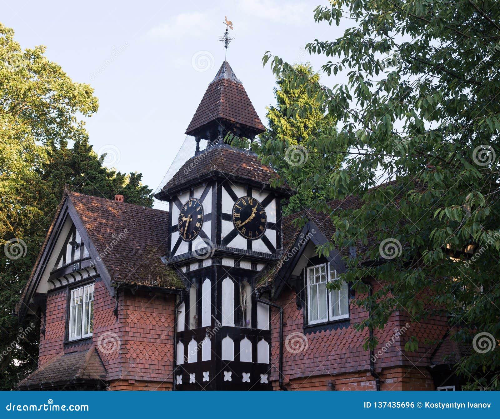 Summer house in Handsworth park, Birmingham