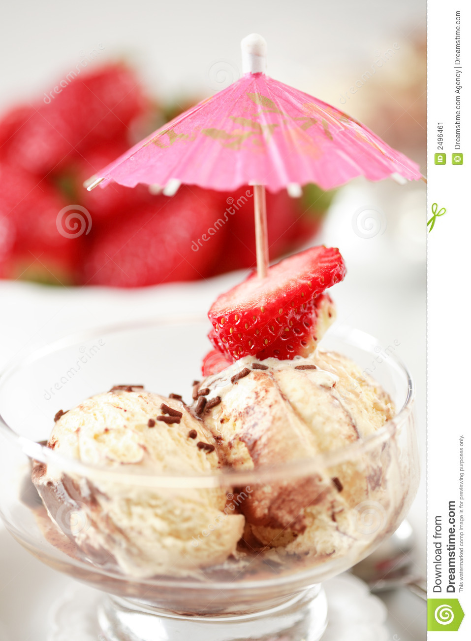 Summer ice cream