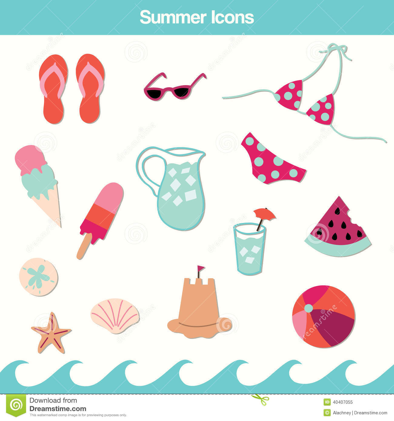 summer vector illustraitons - photo #44