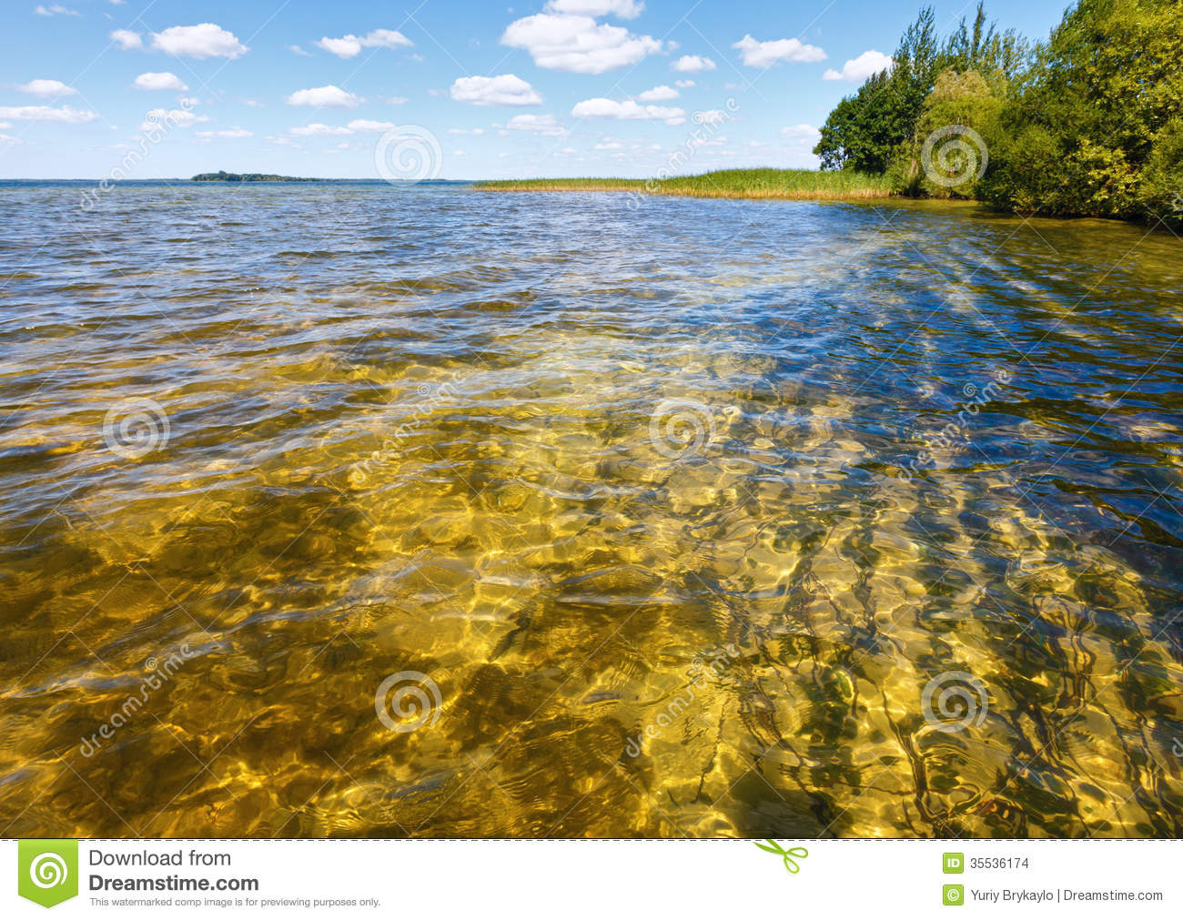 Summer lake view stock photo image of ukraine clear for Summer lake