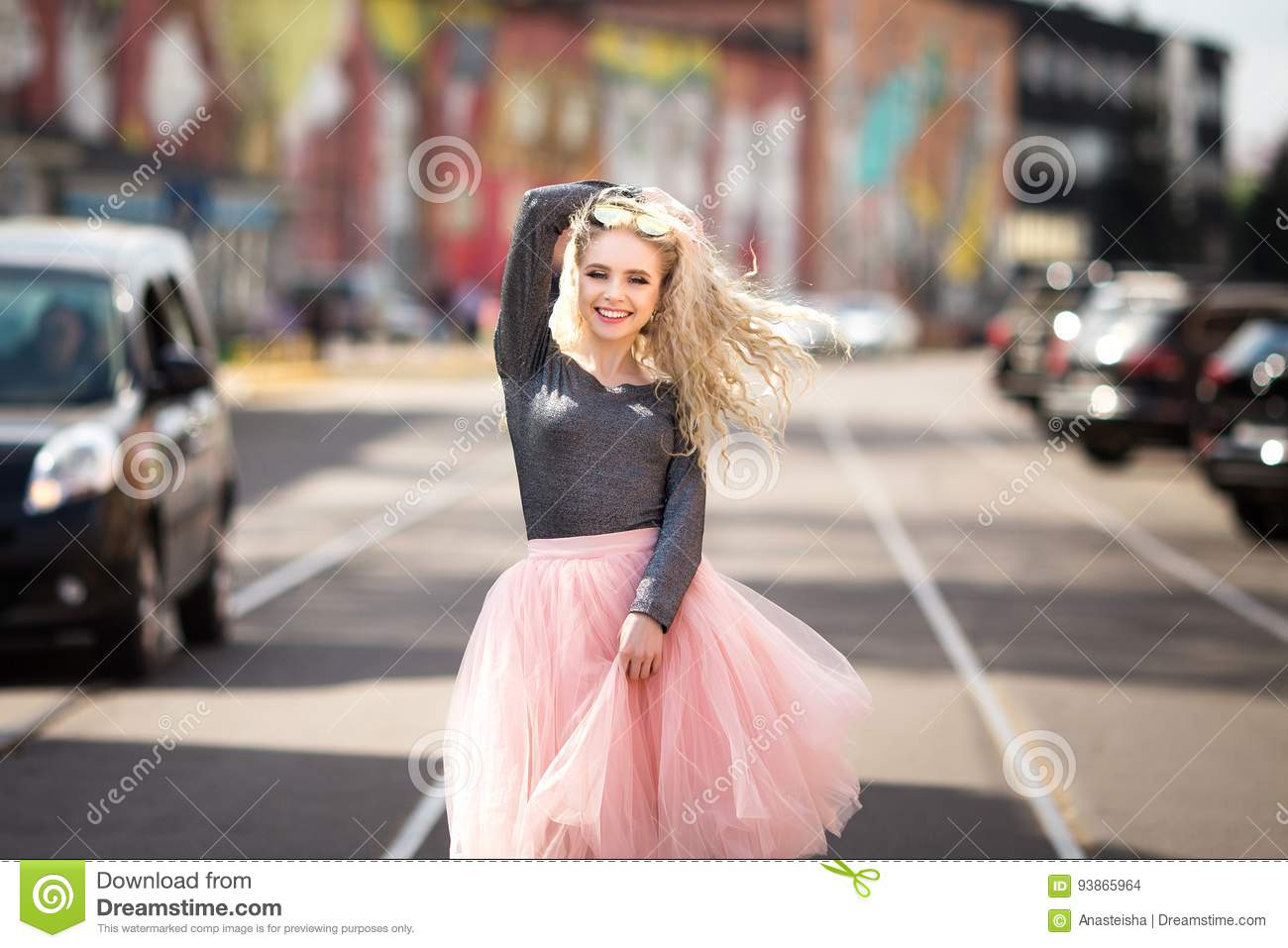 5d10c876322 Summer sunny lifestyle fashion portrait of young stylish hipster woman  walking on the street