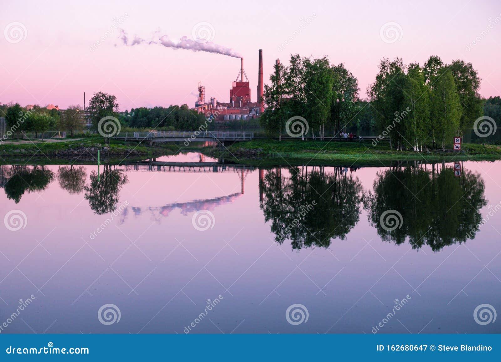 Summer Midnight in Oulu