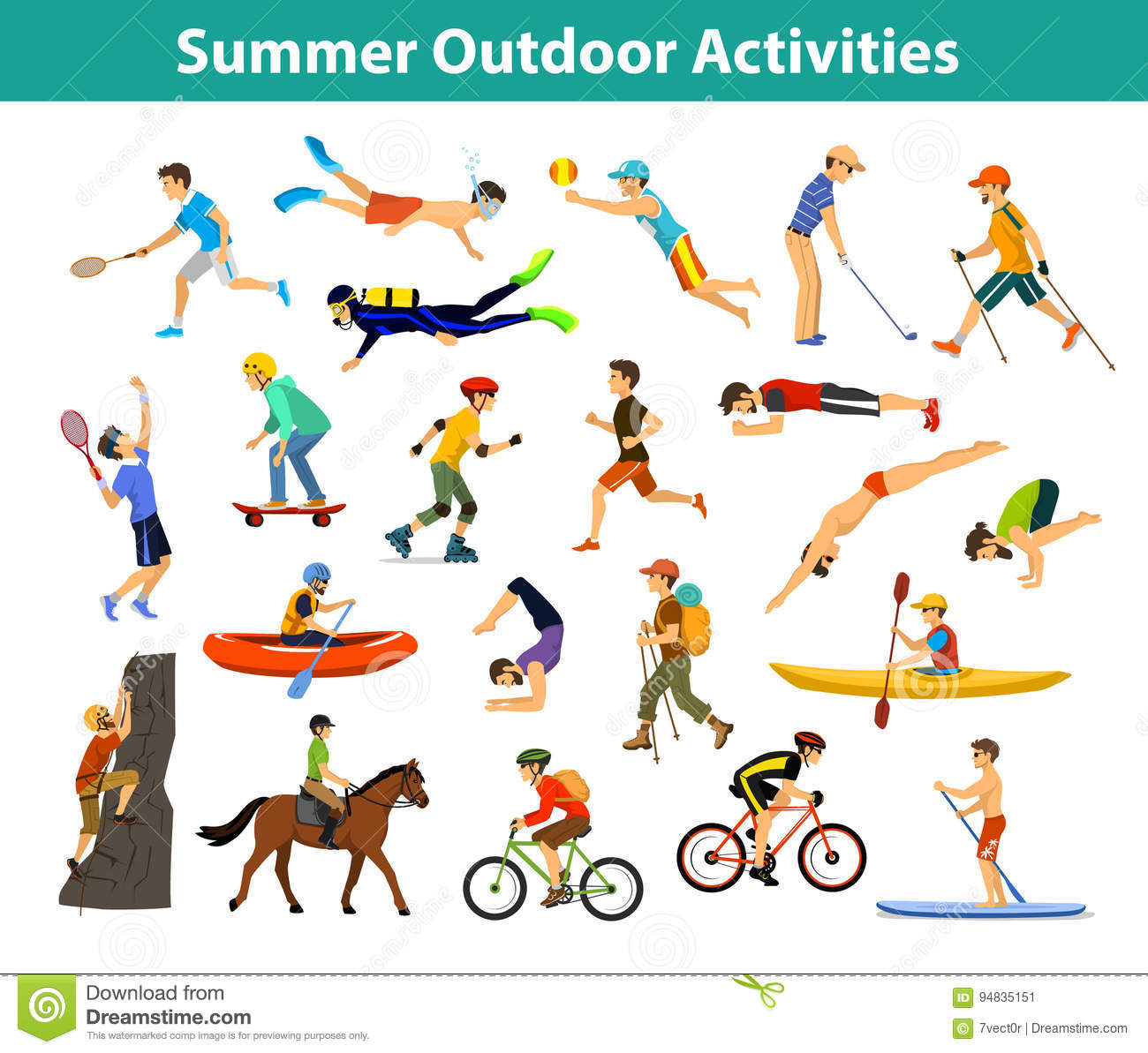Outdoor Sporting Activities