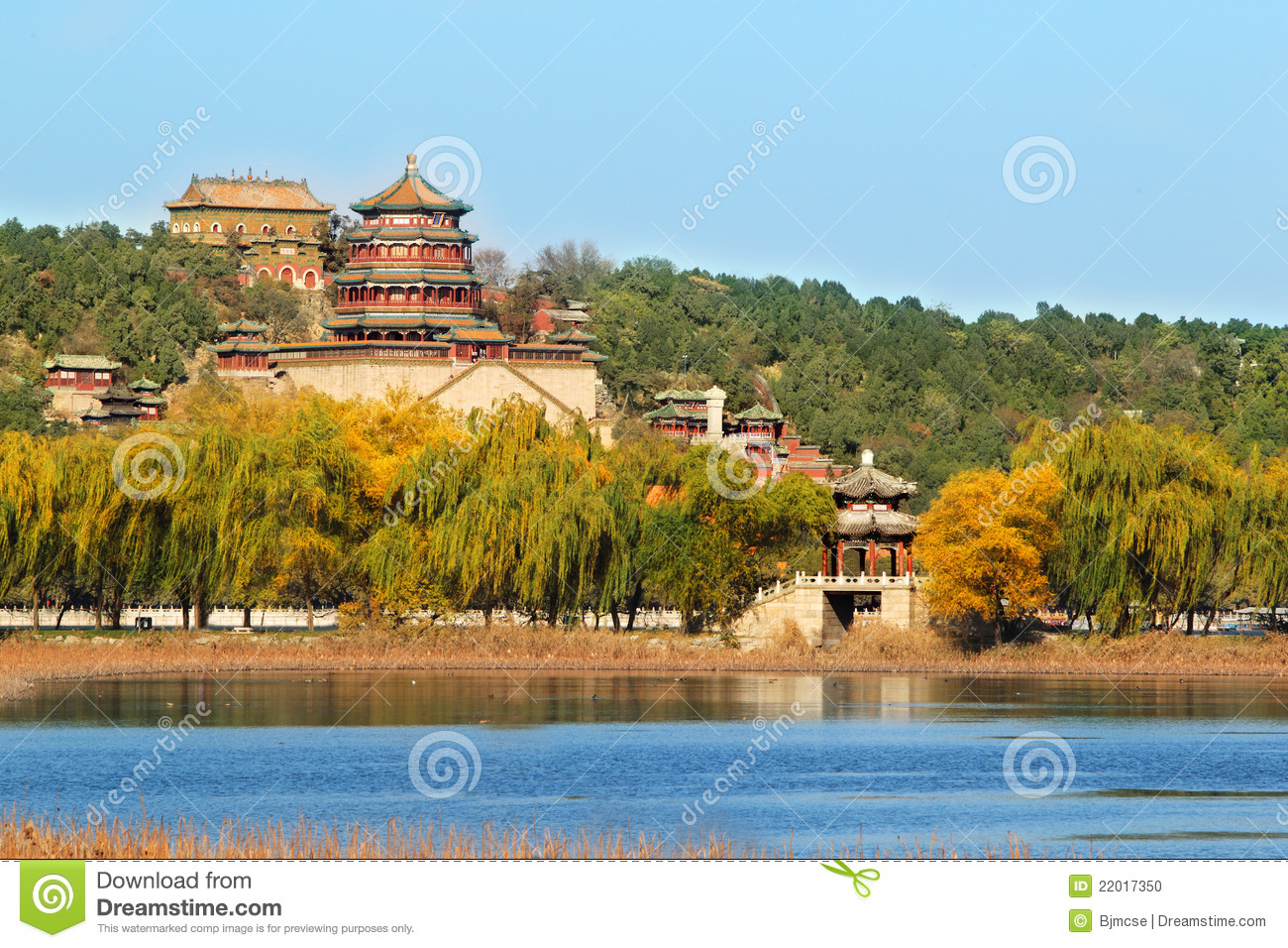 Summer Palace In Autumn Stock Photo Image 22017350