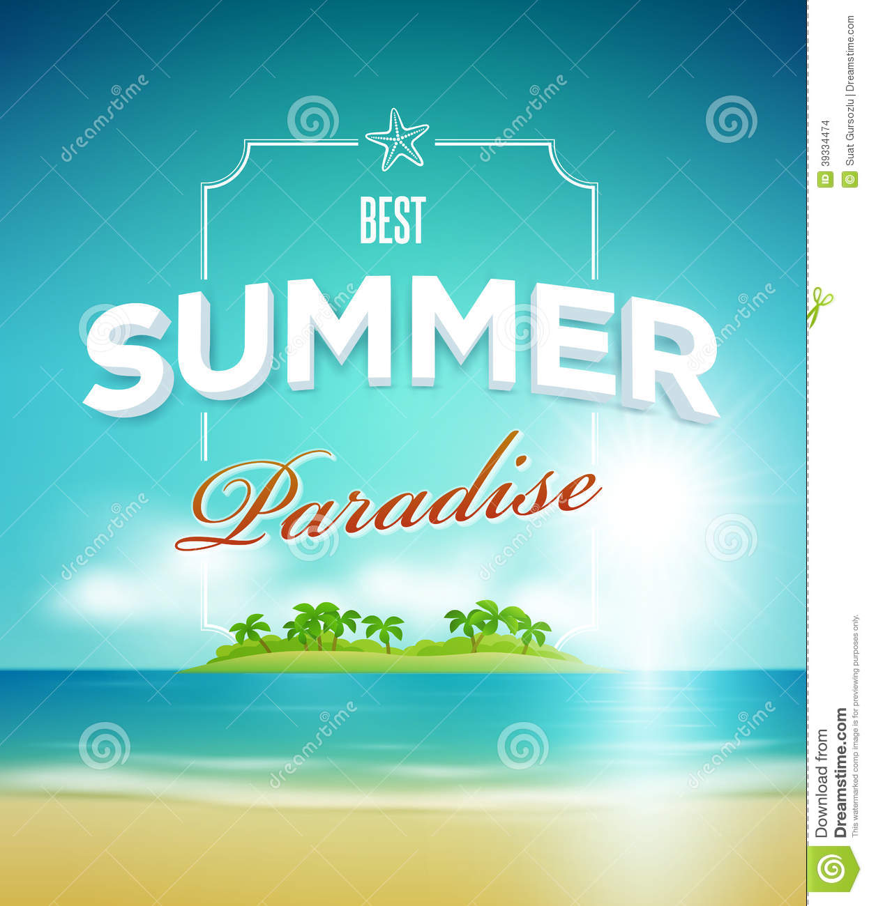 Poster design vector download - Design Paradise Poster