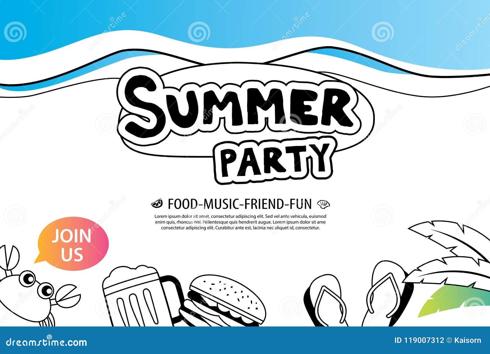 Perfect Summer Party Invitations Ideas - Invitations Design ...