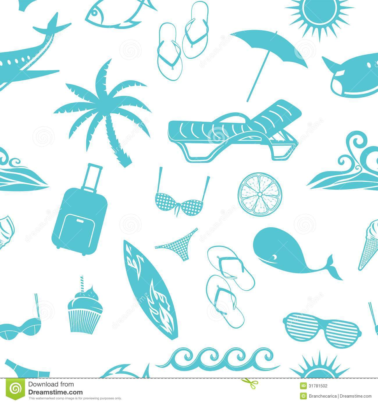 Summer Pattern Stock Photography - Image: 31781502