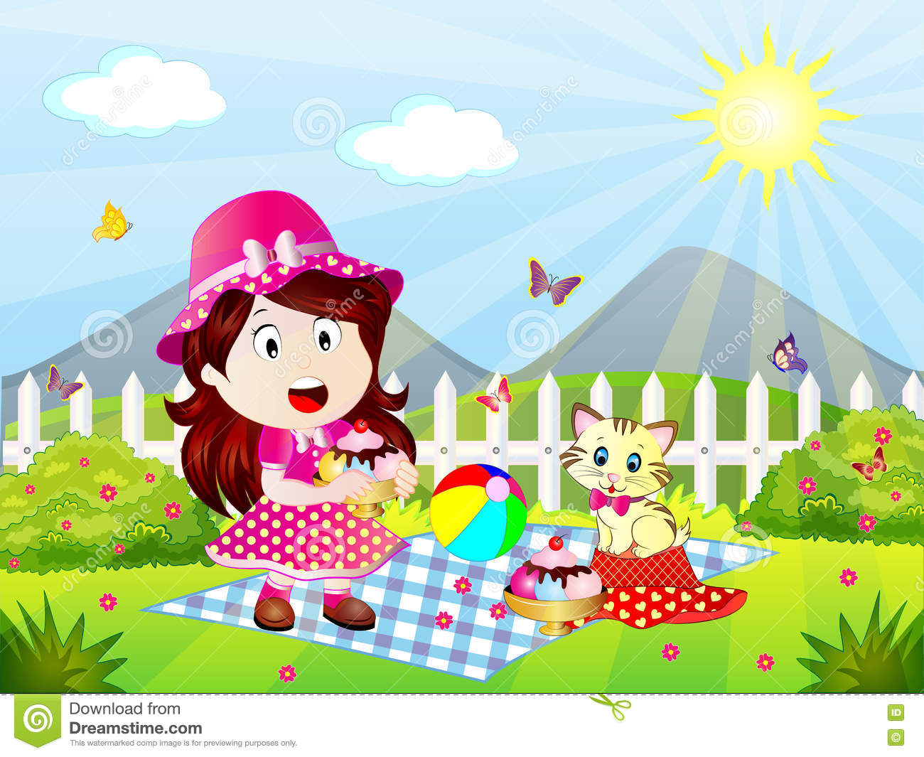 spring picnic clipart - photo #20