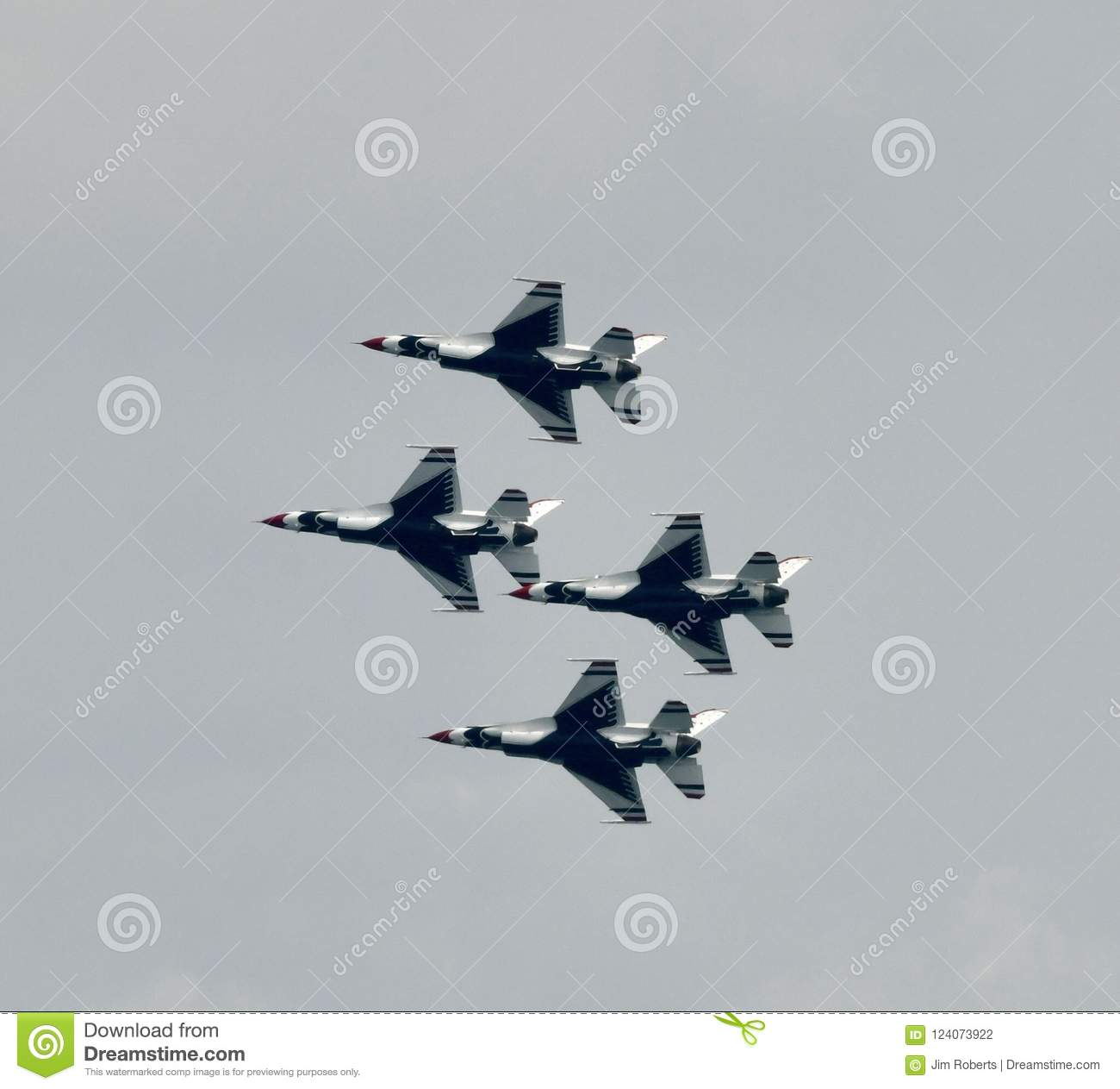 The Thunderbirds Performing