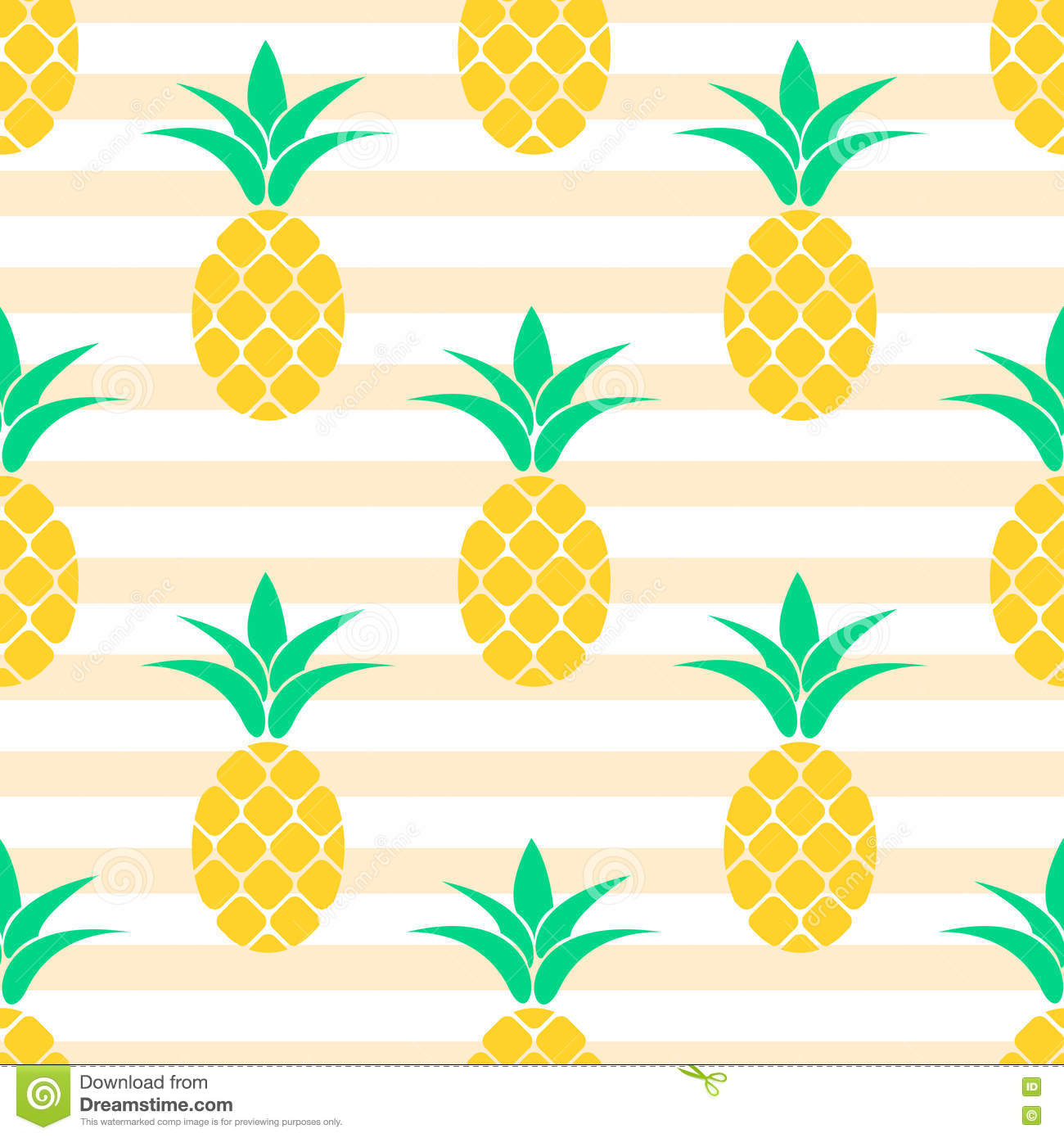 Pineapple pattern background - photo#21