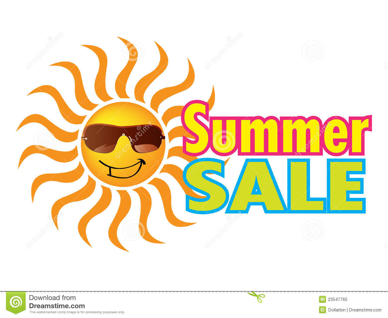 Summer Sale Royalty Free Stock Photo - Image: 23547765
