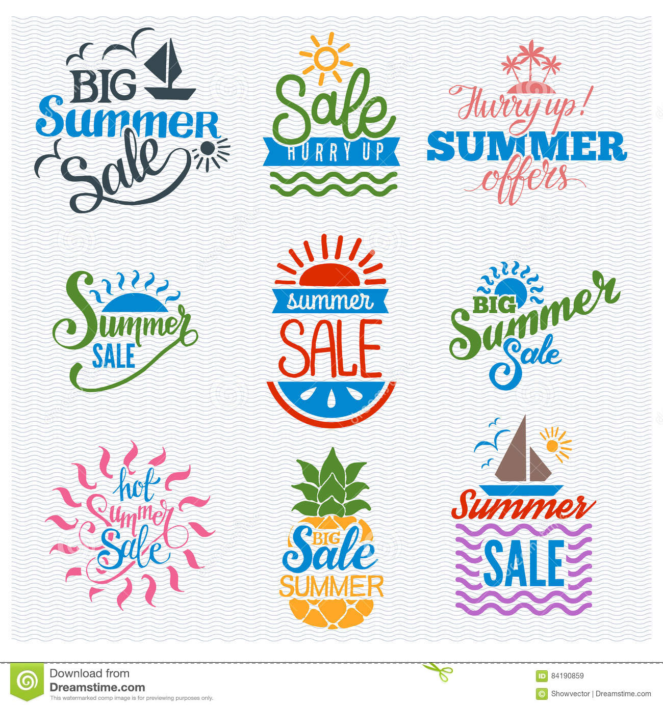 summer sale badge vector stock vector illustration of discount