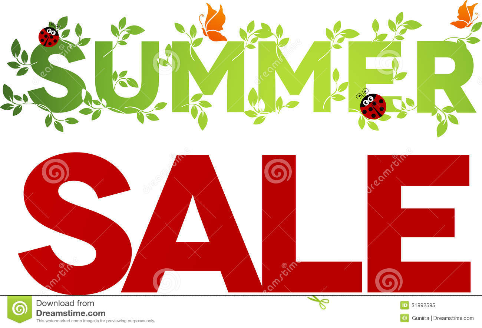 Summer Sale Design Royalty Free Stock Photo - Image: 31892595