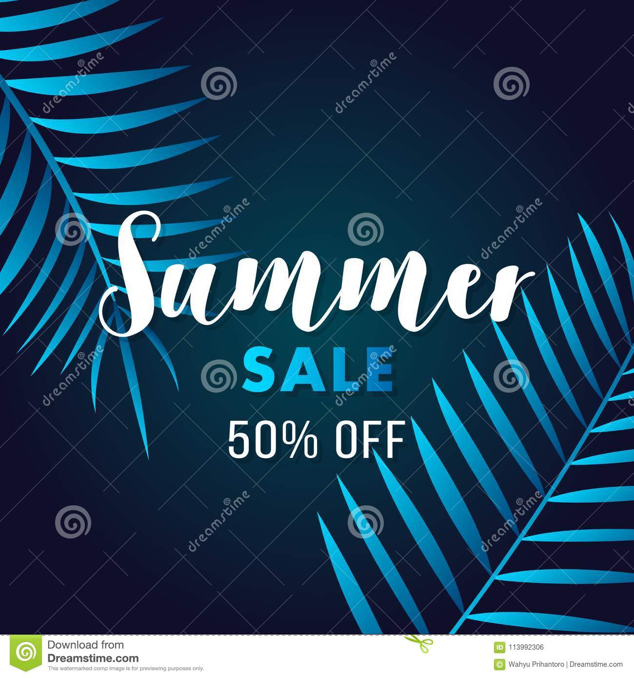 60f0b5832 Summer sale flyer poster banner promotion . Modern Trend Style. Green