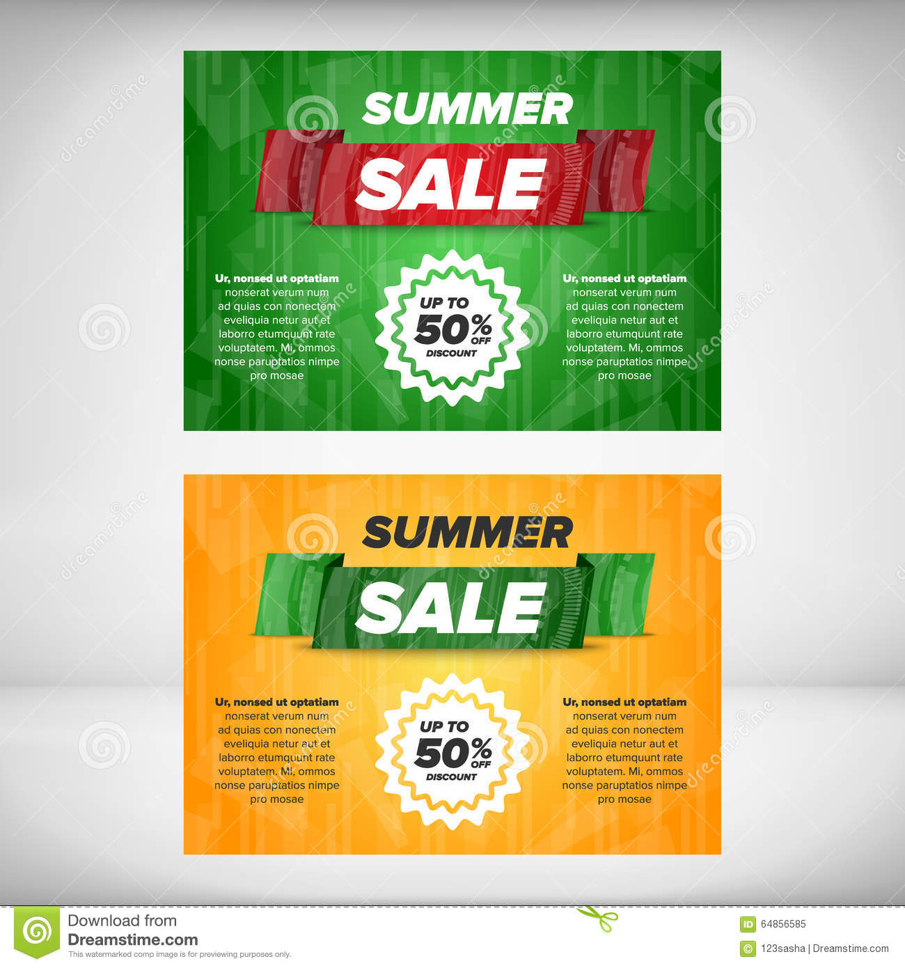 summer flyer template stock vector image  summer flyer template
