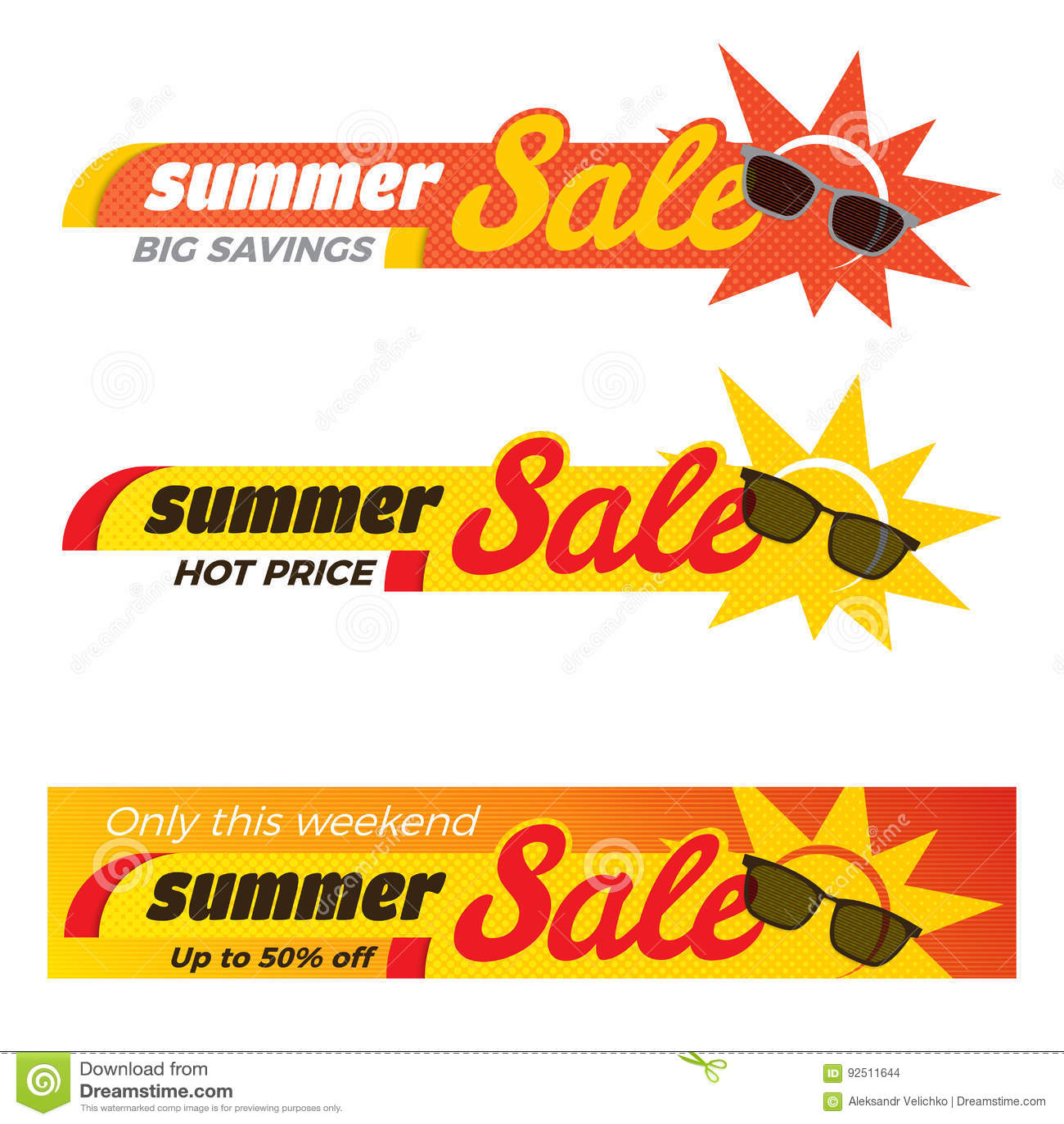 summer sale label price tag banner badge template sticker design vector illustration