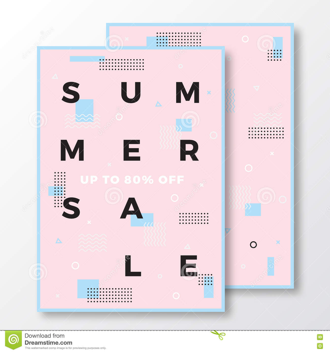 summer flyer template stock vector image 64856585 summer poster card or flyer template modern abstract flat swiss style background