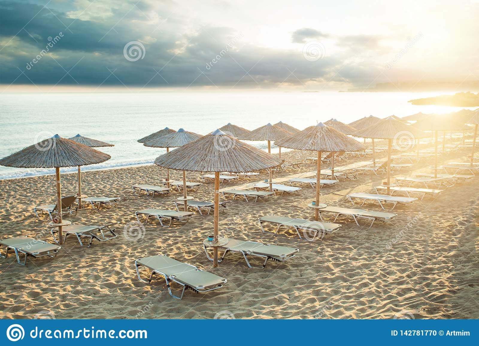 Summer sea beach background. Vacation and holidays concept