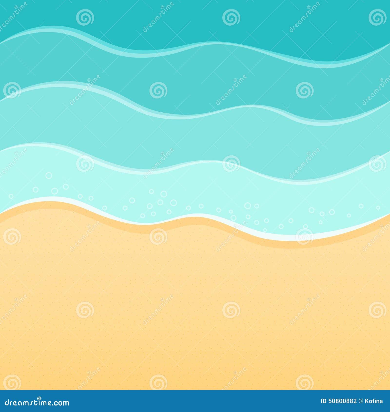 Summer Sea Beach Background Waves And Sand Travel Resort