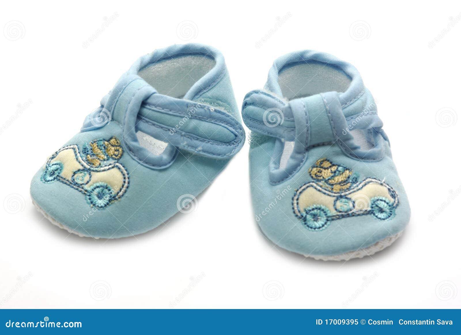 Little Wonders Newborn Girl's Velcro Strap Velour Crib Bootie -Size 0-3 Months