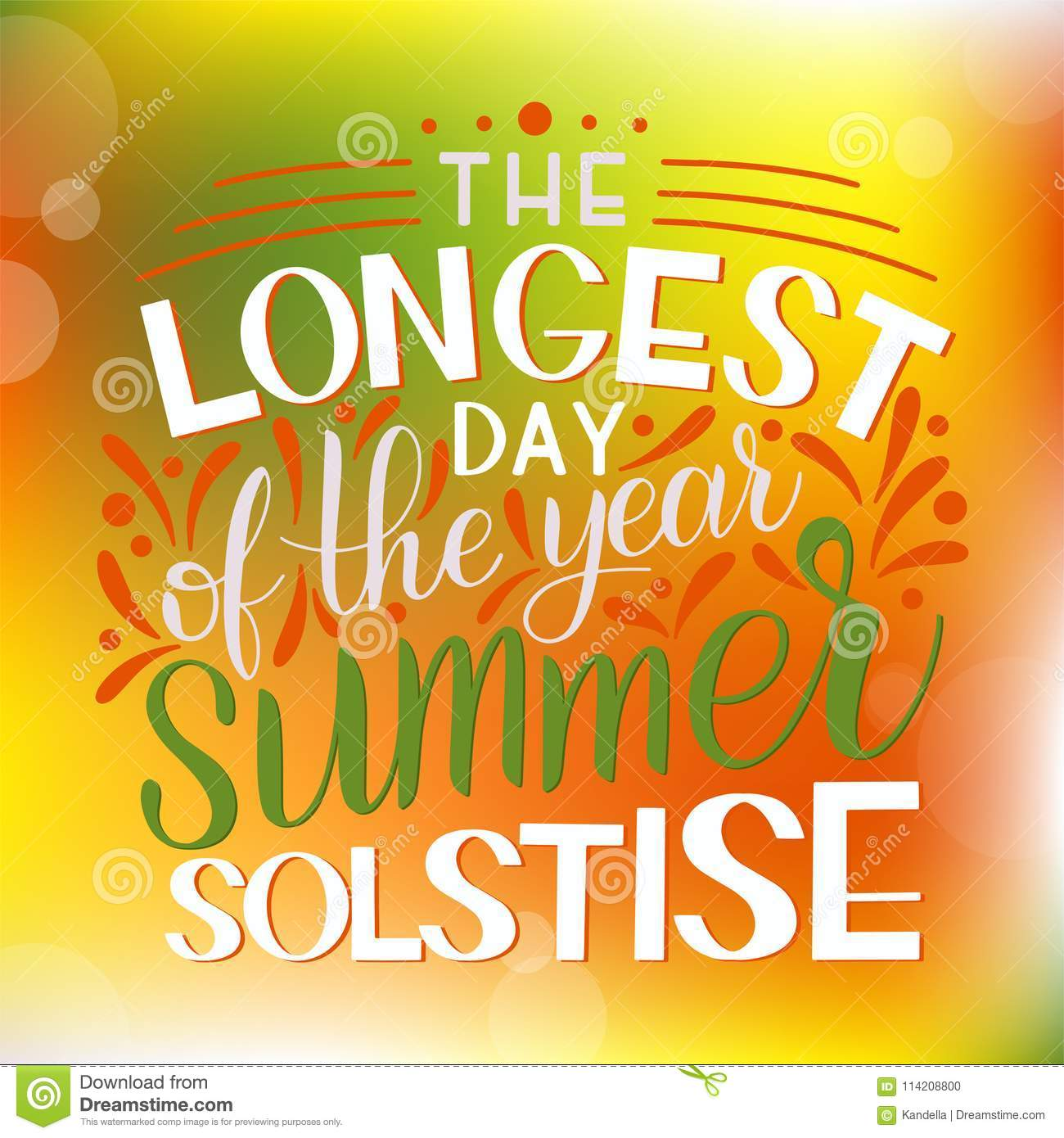 Summer solstice lettering stock vector illustration of junina summer solstice lettering elements for invitations posters greeting cards m4hsunfo