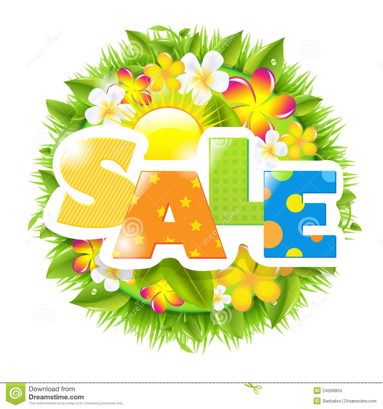 summer and spring template stock images image  summer and spring template