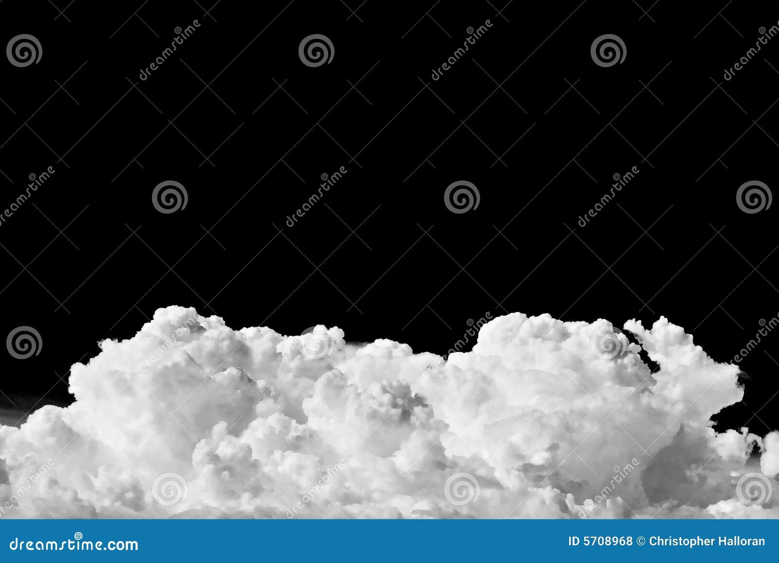 A summer storm cloud