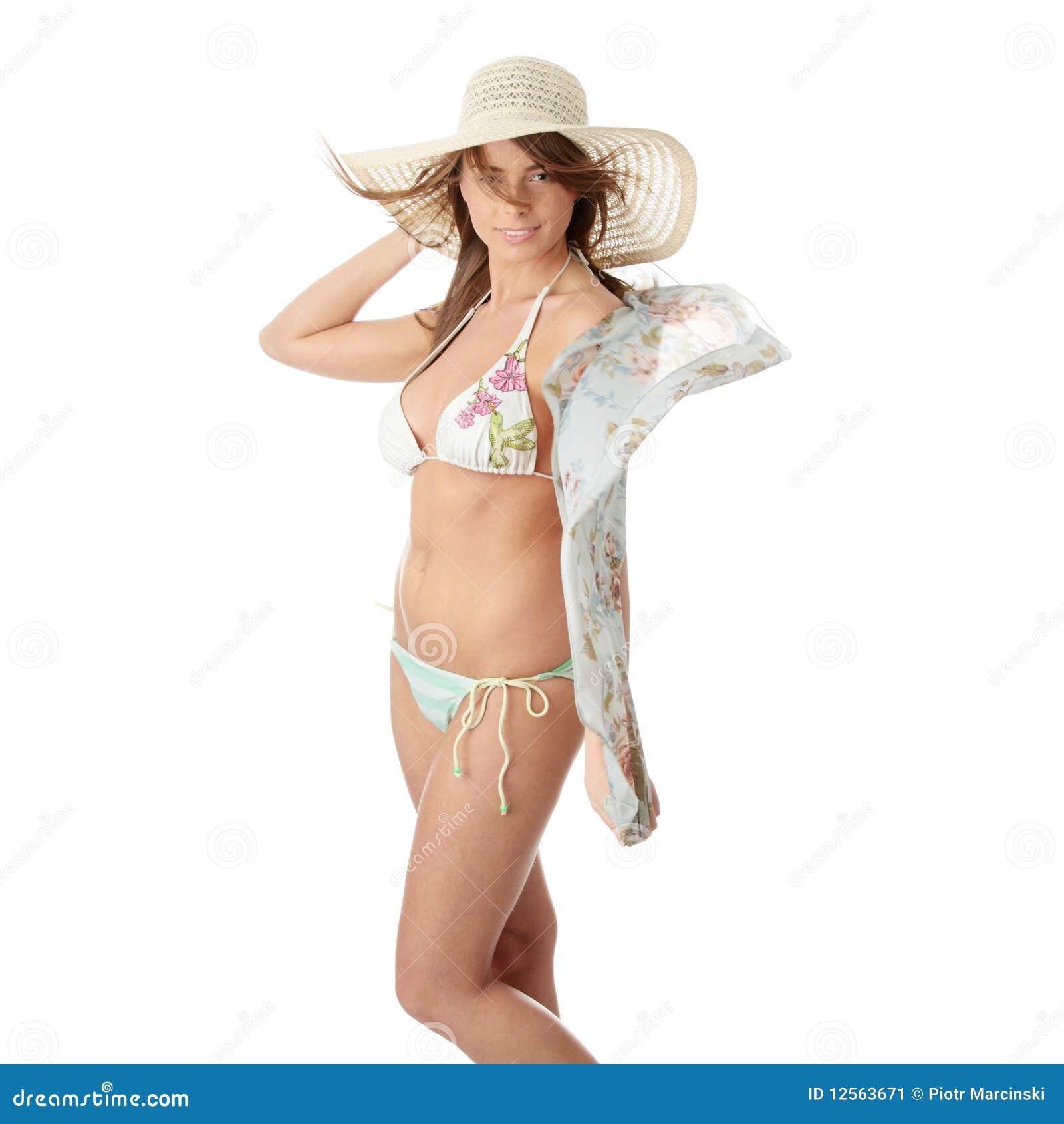 Summer teen girl in bikini stock image. Image of safe - 12563671 7cf497aaf