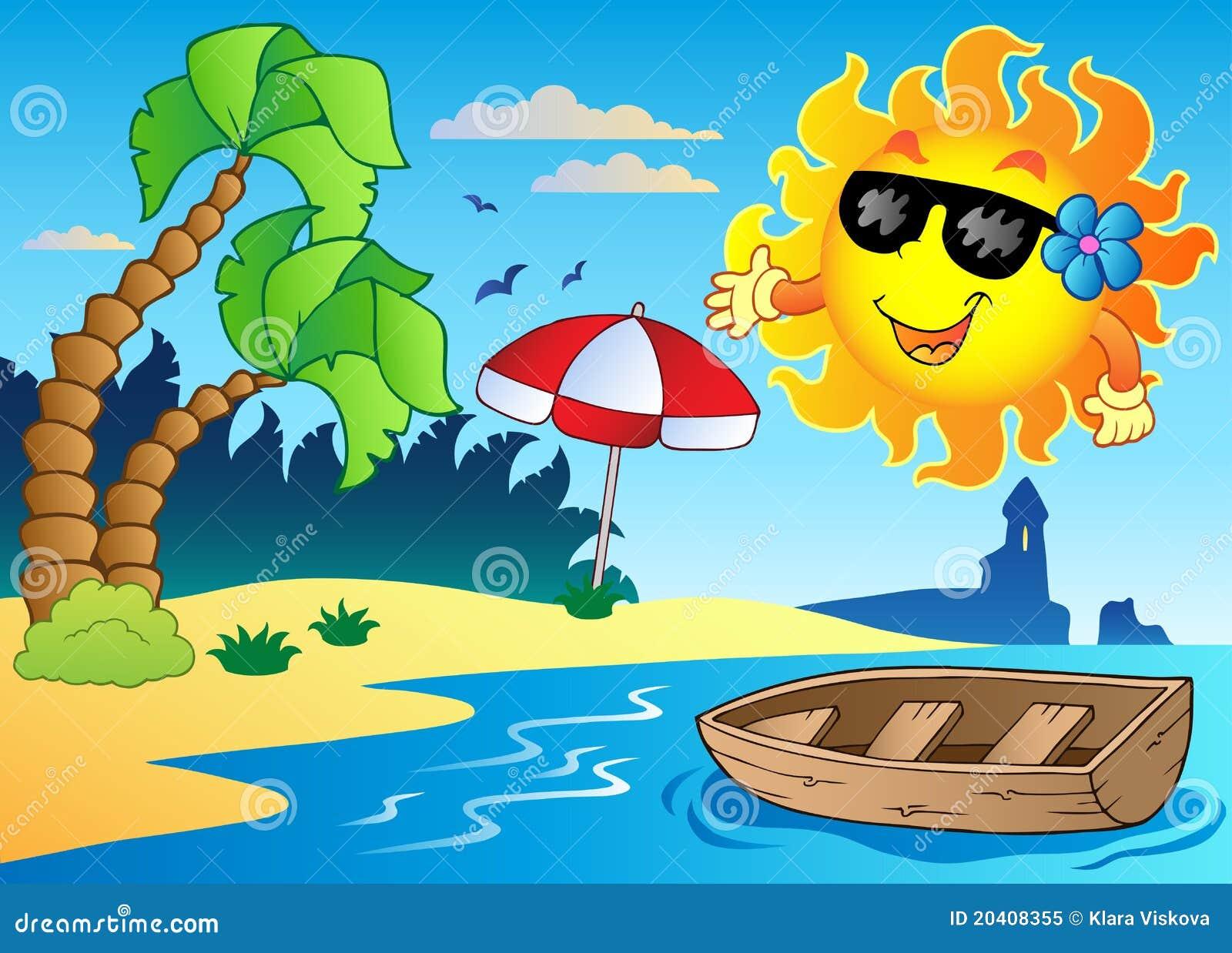 Summer Theme Image 4 Royalty Free Stock Photo Image 20408355