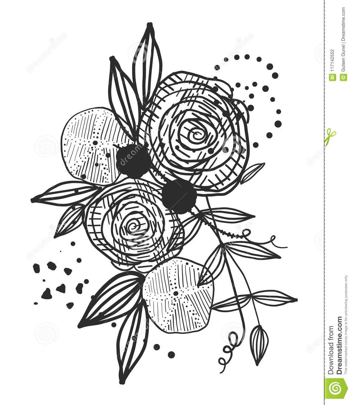summer time abstract black flowers naturetheme abstract rose silhouette flowerabstract tattoo design