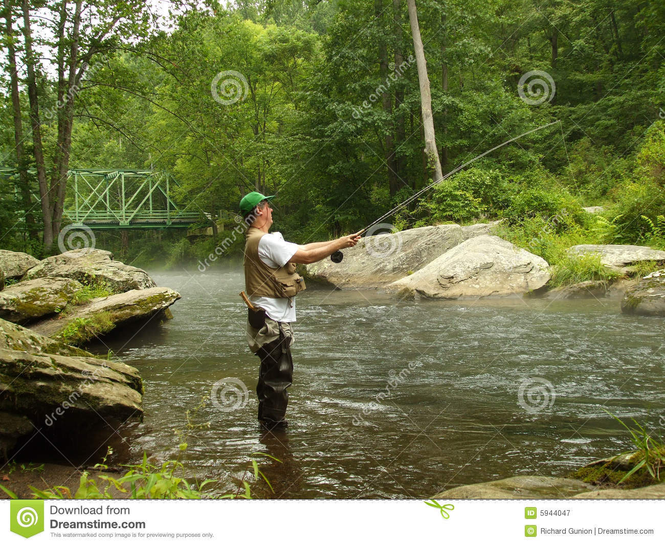 Summer time fishing stock image image of outdoors falls for Fishing times free