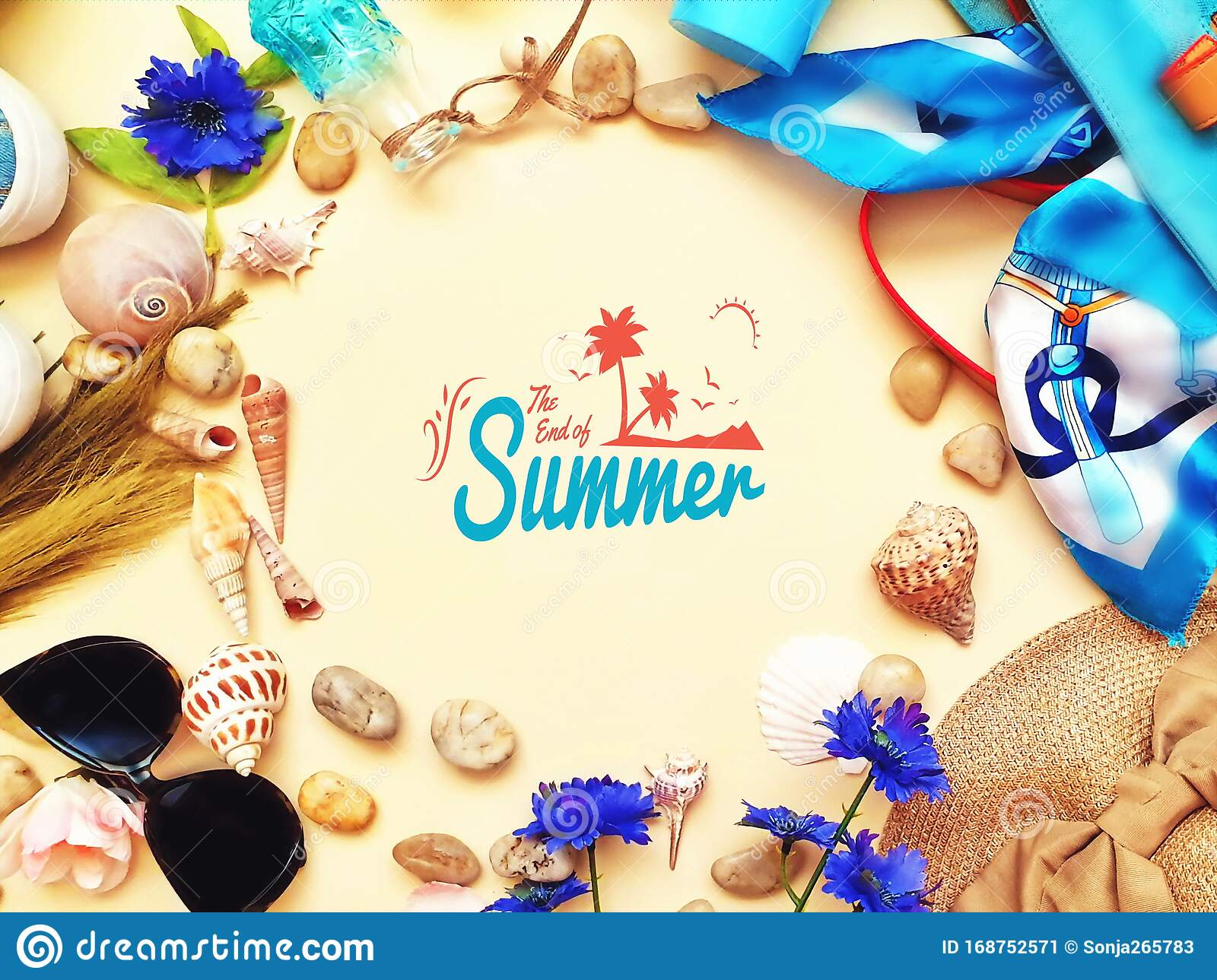 summer women accessories and clothes weekend beachwear for leisure