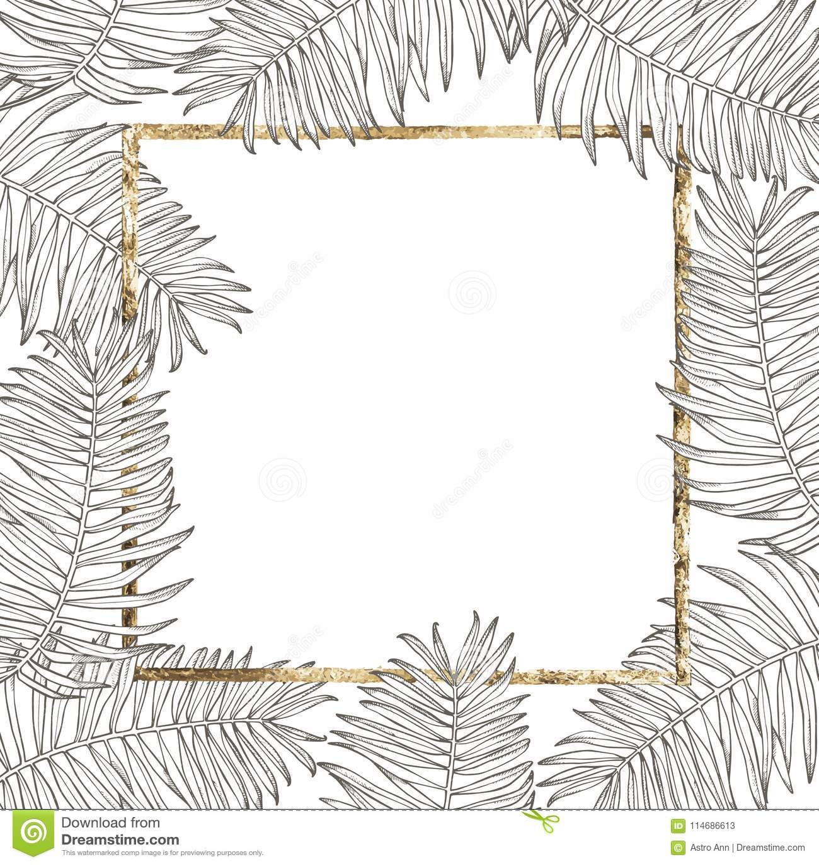 Summer tropical leaves vector design floral background illustration download comp stopboris Choice Image