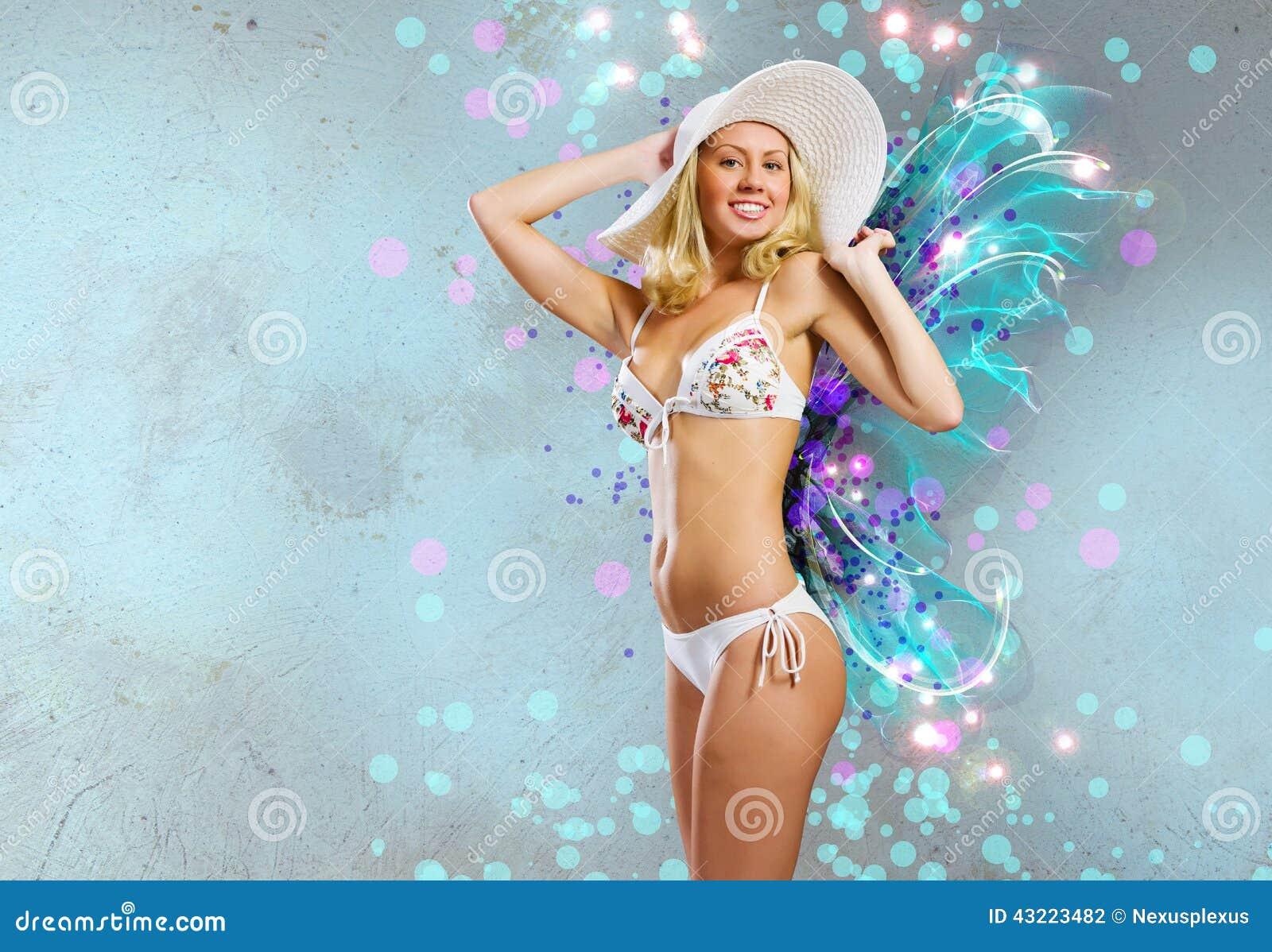 Pretty Blonde Summer Vacation Scene 34