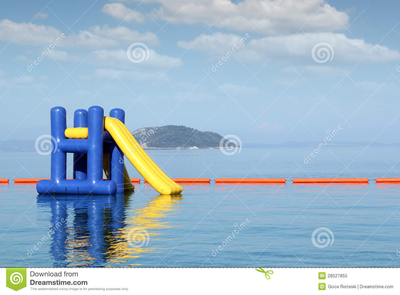 Royalty free stock photo summer vacation scene with