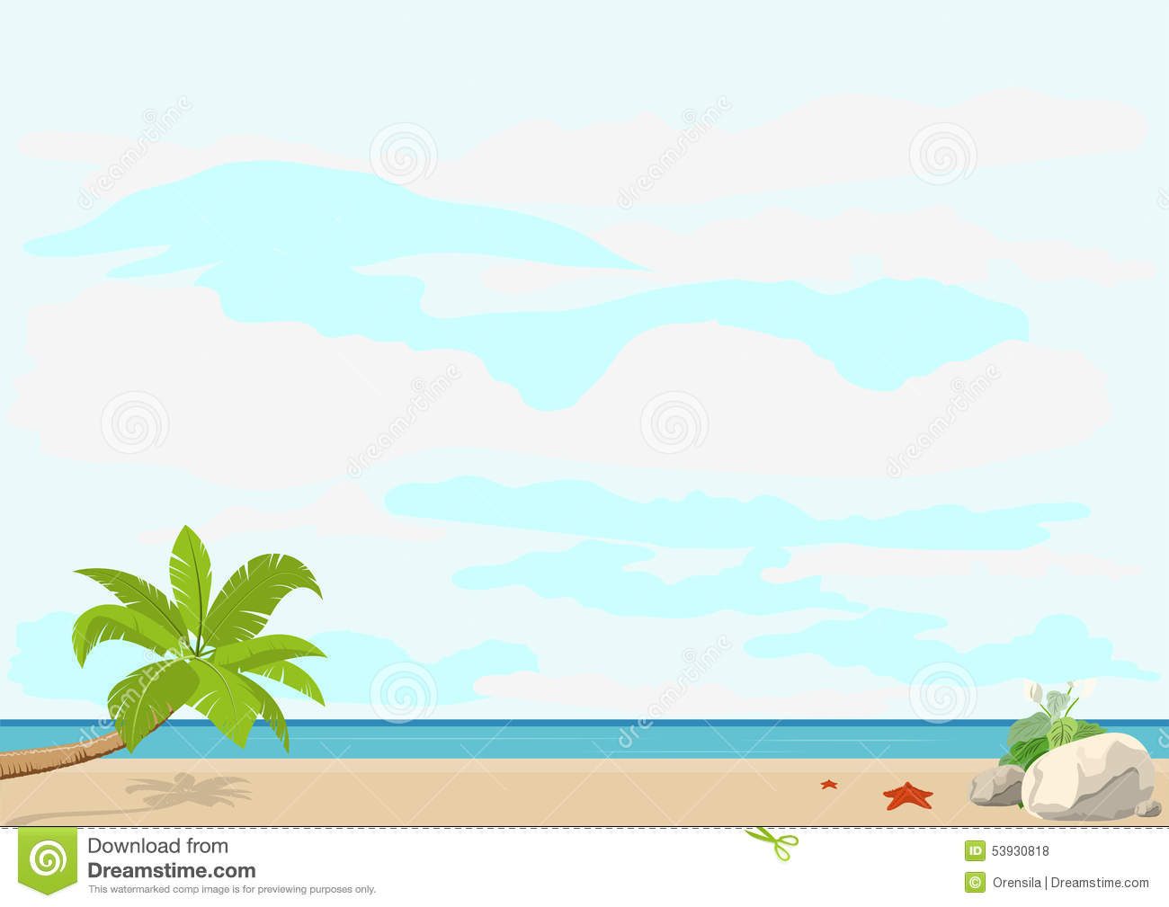 beach themed powerpoint templates tropical beach powerpoint