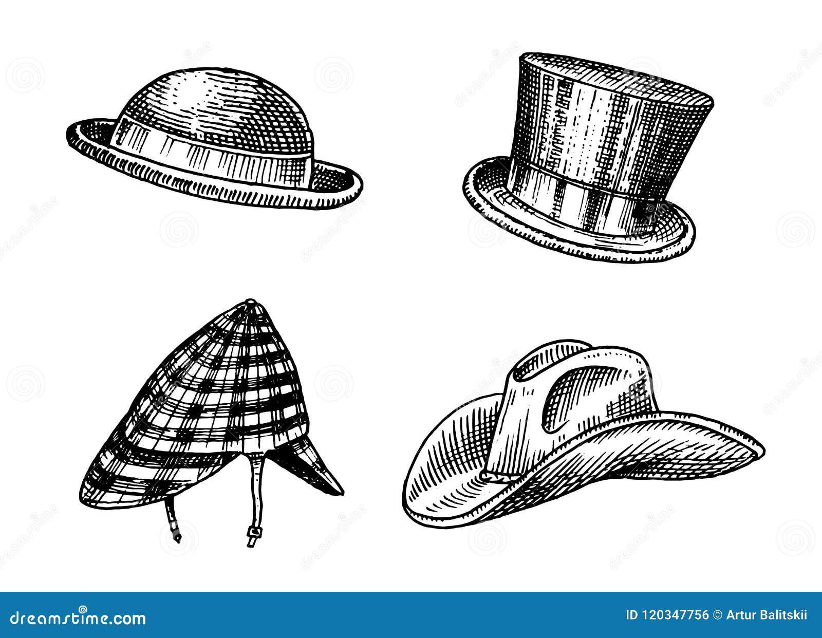 f9c6380779fc7 Summer vintage Hats collection for elegant men. Fedora Derby Deerstalker  Homburg Bowler Straw Beret Captain Cowboy Porkpie Boater Peaked cap.