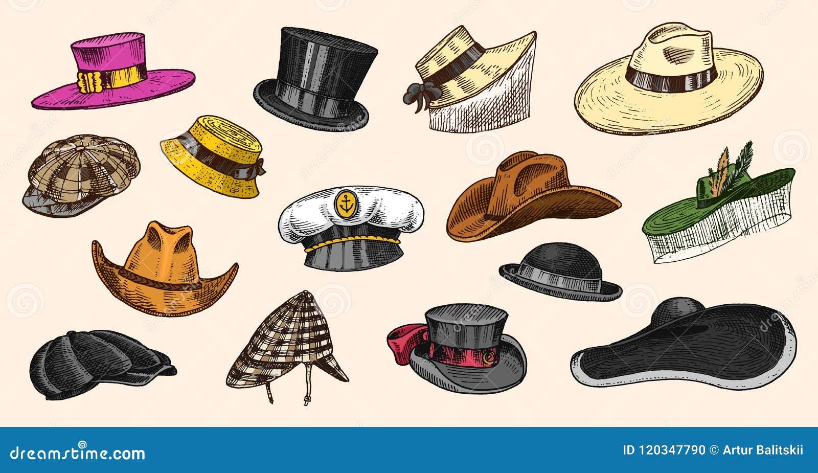293811a738554 Summer Vintage Hats Collection For Elegant Men